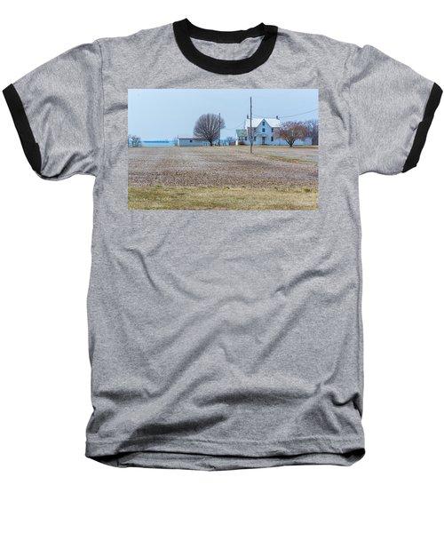 Farm On The Bay Baseball T-Shirt