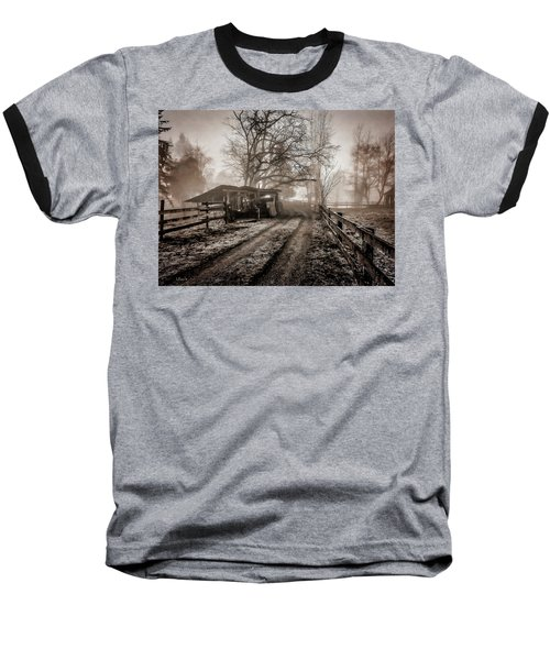 Farm Road Late Autumnl. Baseball T-Shirt