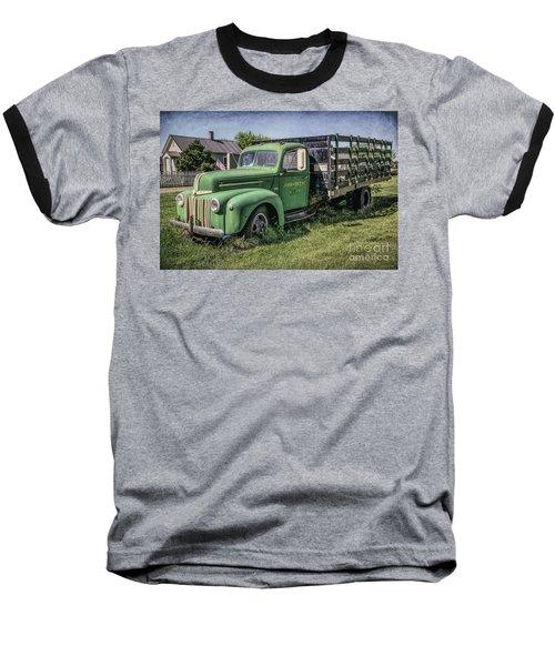 Farm Truck Baseball T-Shirt