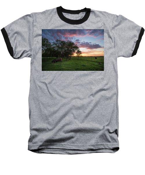 Farm View  Baseball T-Shirt