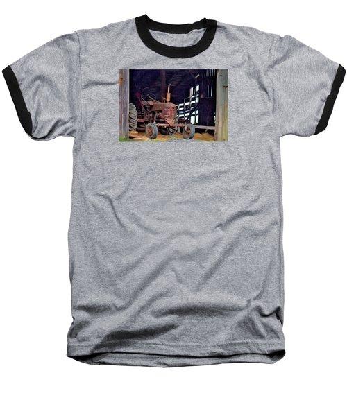 Farmall 300 #2 Baseball T-Shirt by George Robinson