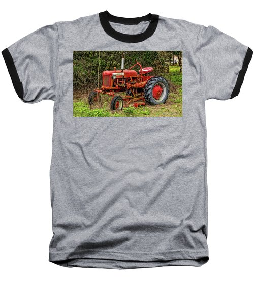 Baseball T-Shirt featuring the photograph Farmall Cub by Christopher Holmes