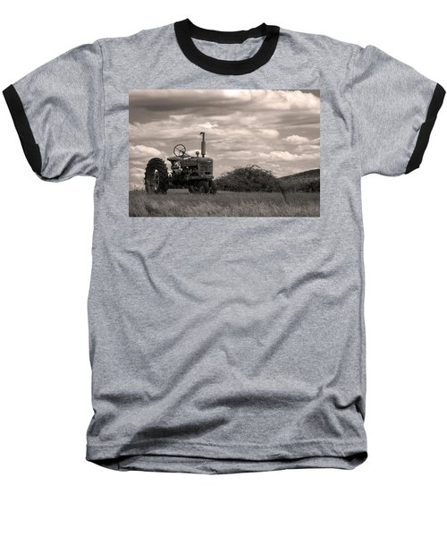 Baseball T-Shirt featuring the photograph Farmall by Michael Friedman