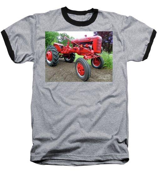 Farmall Baseball T-Shirt by Susan Lafleur