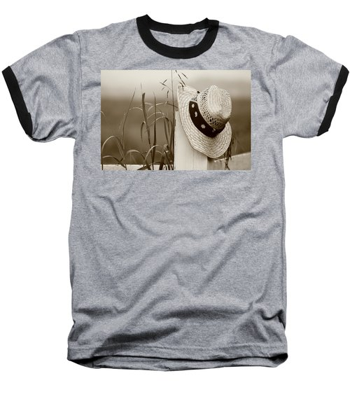 Farmers Hat Baseball T-Shirt