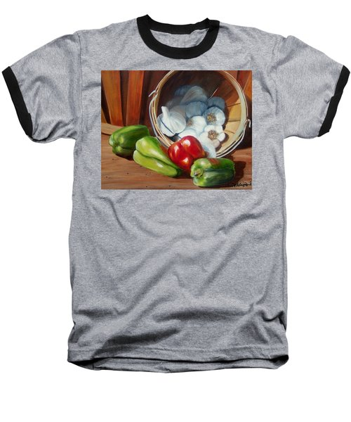 Farmers Market Baseball T-Shirt