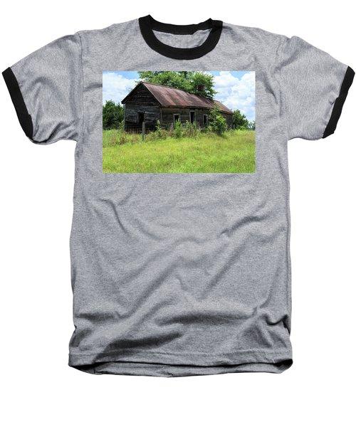 Farmhouse Abandoned Baseball T-Shirt