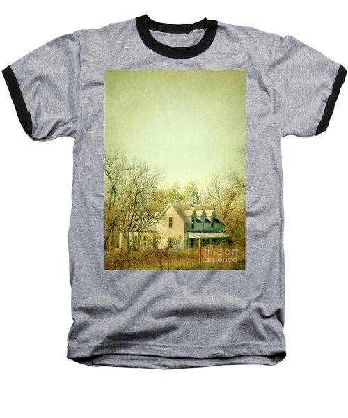 Baseball T-Shirt featuring the photograph Farmhouse In Arkansas by Jill Battaglia