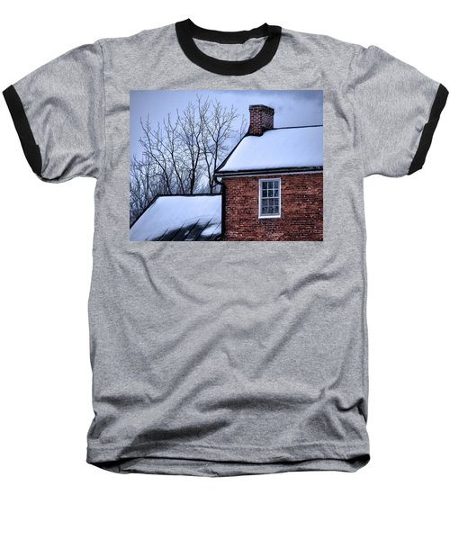 Baseball T-Shirt featuring the photograph Farmhouse Window by Robert Geary