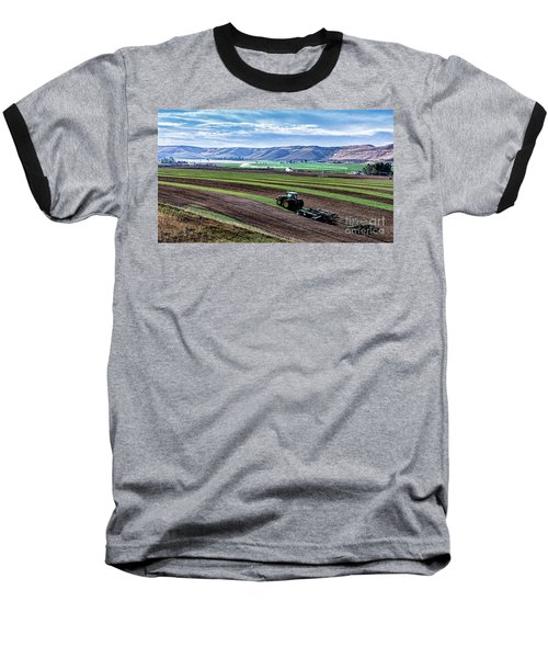 Farming In Pardise Agriculture Art By Kaylyn Franks Baseball T-Shirt
