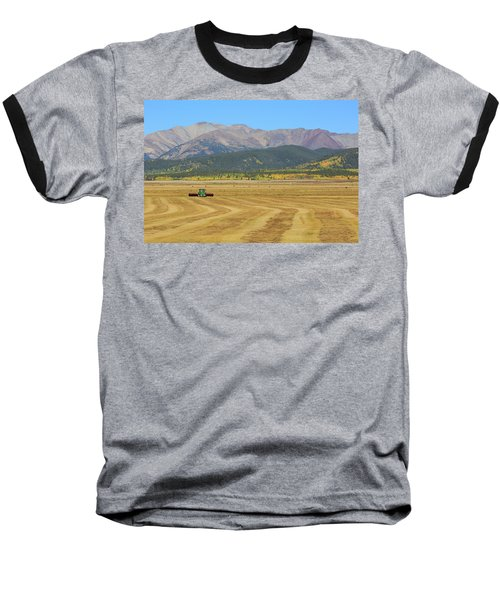 Baseball T-Shirt featuring the photograph Farming In The Highlands by David Chandler