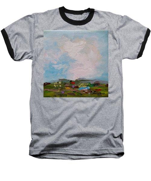 Farmland II Baseball T-Shirt by Judith Rhue