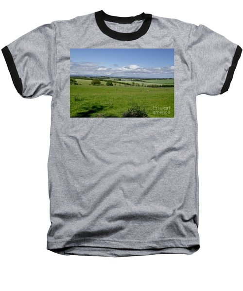 Farmland In Beecraigs. Baseball T-Shirt