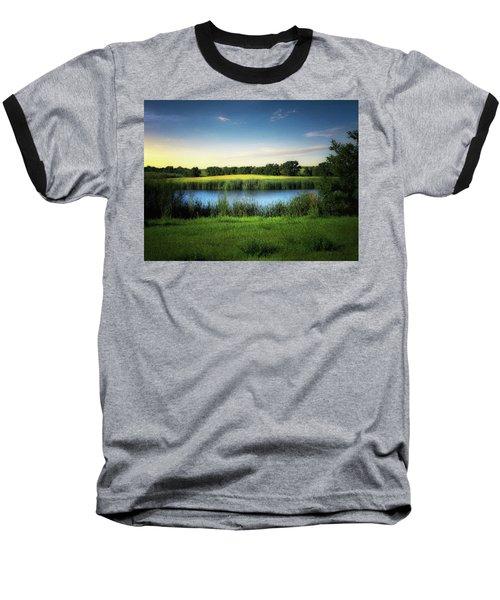 Farmland Waters Baseball T-Shirt
