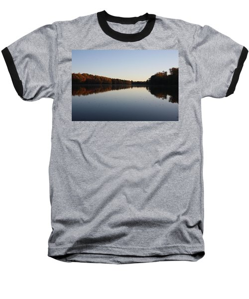 Baseball T-Shirt featuring the photograph Farrington Lake Autumn by Vadim Levin