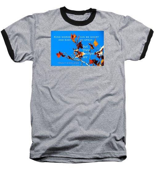 Farthest Reach Baseball T-Shirt by David Norman