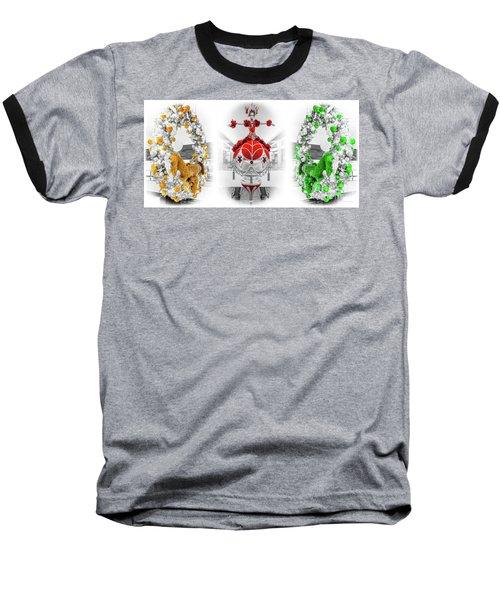 Fashion Show Christmas Ornament Collection Baseball T-Shirt