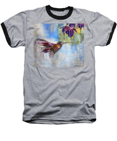 Fast Fuchsia Checkout Baseball T-Shirt