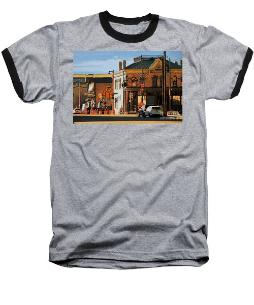 Fat Daddy's Baseball T-Shirt by David Blank
