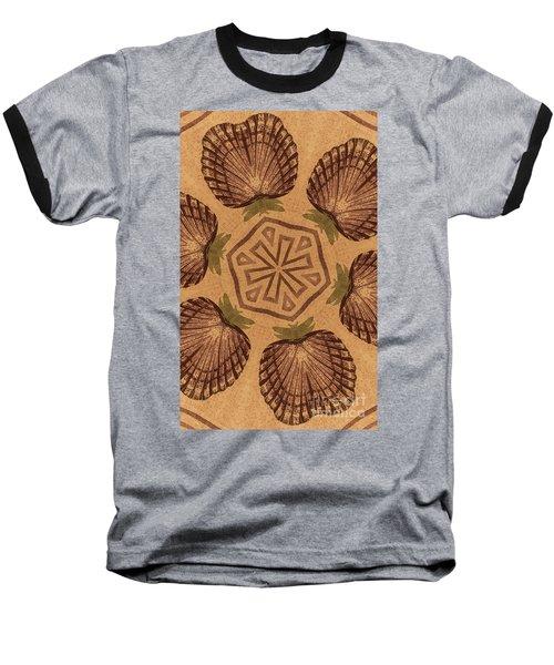 Fat Pineapple And Star Baseball T-Shirt