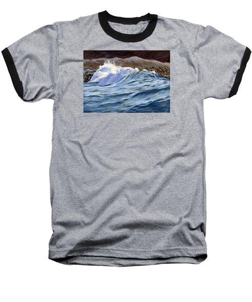 Fat Wave Baseball T-Shirt