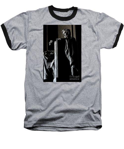 Father Abraham Baseball T-Shirt by David Bearden