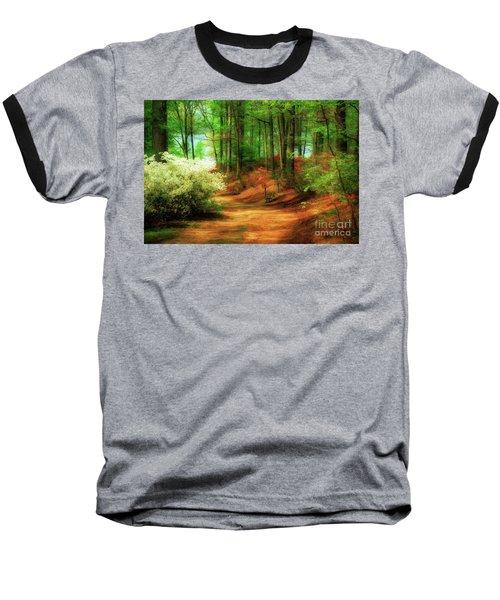 Favorite Path Baseball T-Shirt by Lois Bryan