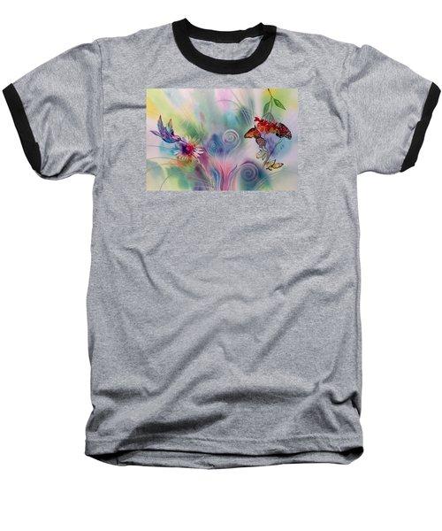 Favorite Things Baseball T-Shirt by Tara Moorman
