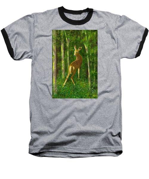 Fawn Baseball T-Shirt