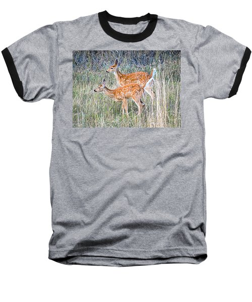 Fawns At Bigfork Baseball T-Shirt