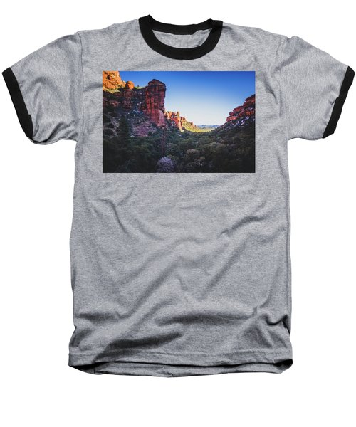Fay Canyon Vista Baseball T-Shirt