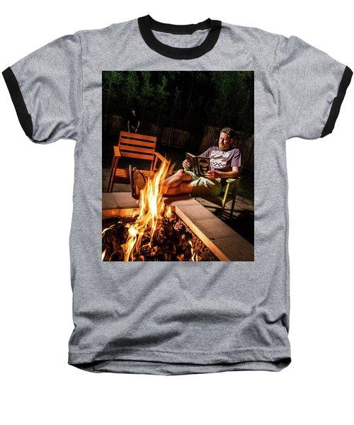 Fear By Fire Baseball T-Shirt