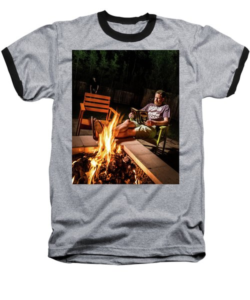 Fear By Fire Baseball T-Shirt