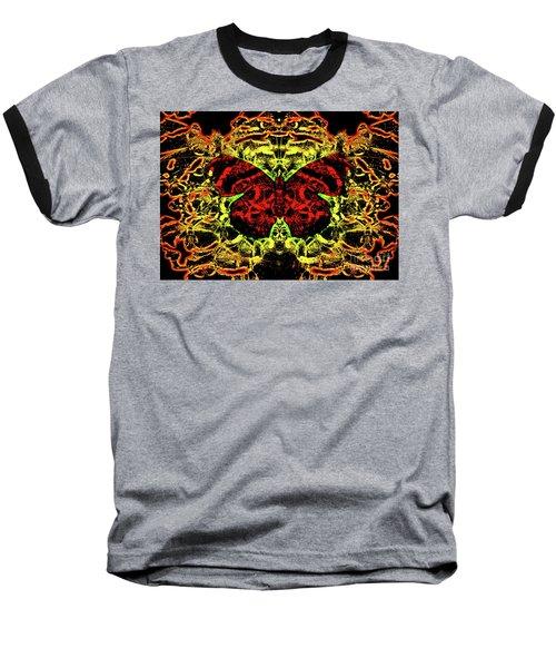 Fear Of The Red Admirals Baseball T-Shirt