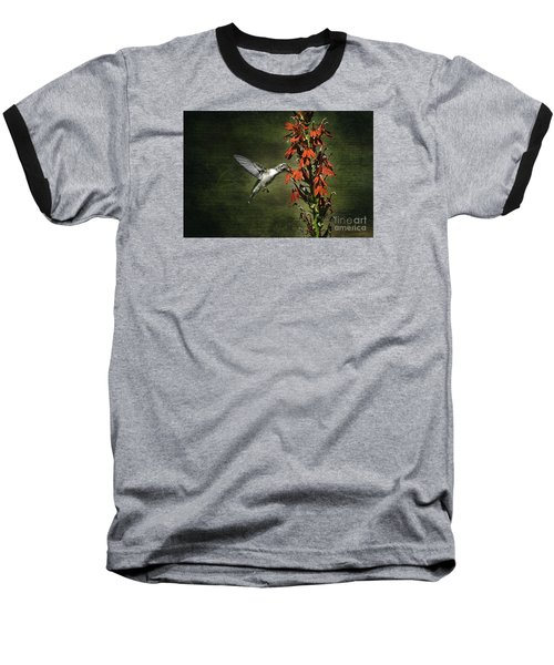 Baseball T-Shirt featuring the photograph Feasting by Judy Wolinsky