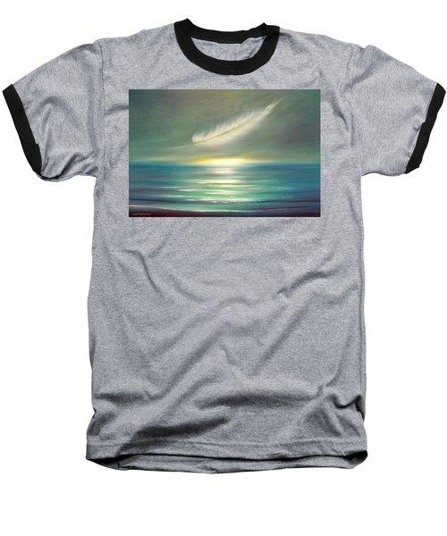 Feather At Sunset Baseball T-Shirt
