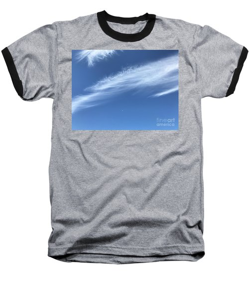 Feather In The Sky Baseball T-Shirt