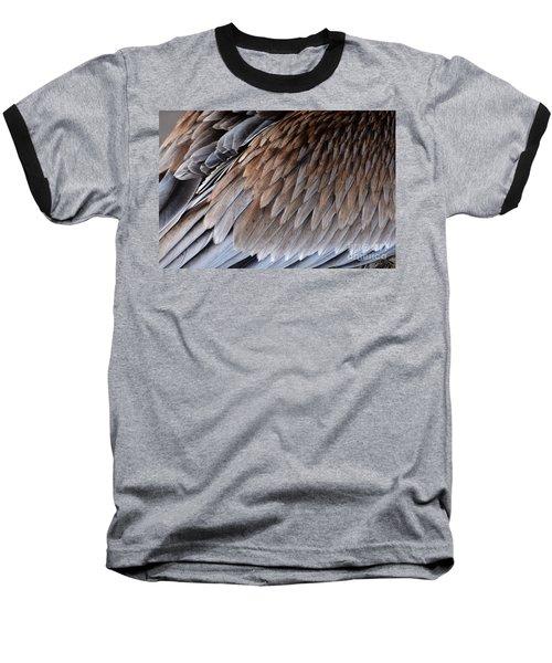 Feathers Cascade Baseball T-Shirt