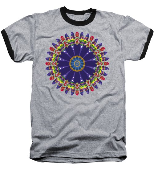 Feathers In The Round Baseball T-Shirt
