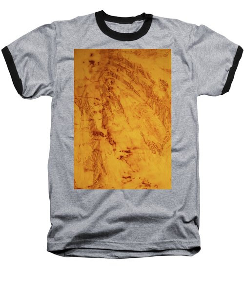 Feathers On The Wind Baseball T-Shirt by Cynthia Powell