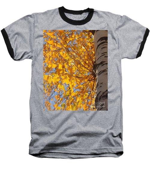 Feathery Fan Of Leaves Baseball T-Shirt