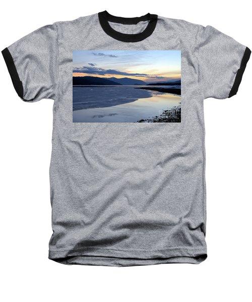 February At Dusk 5 Baseball T-Shirt by Victor K