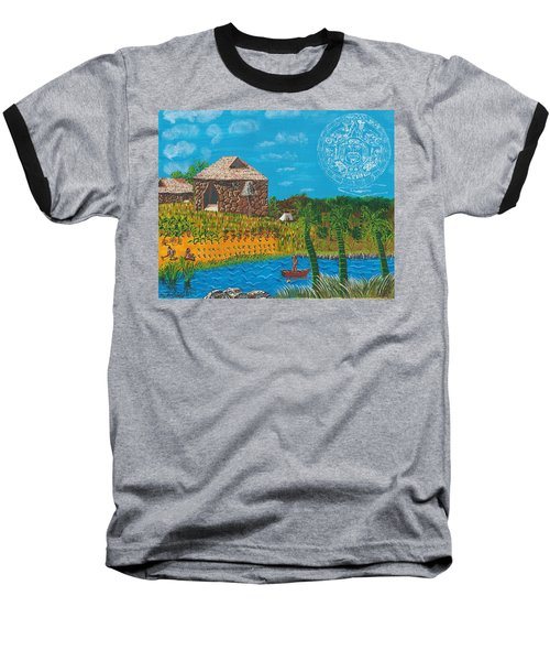 February  Mayan Farm Baseball T-Shirt