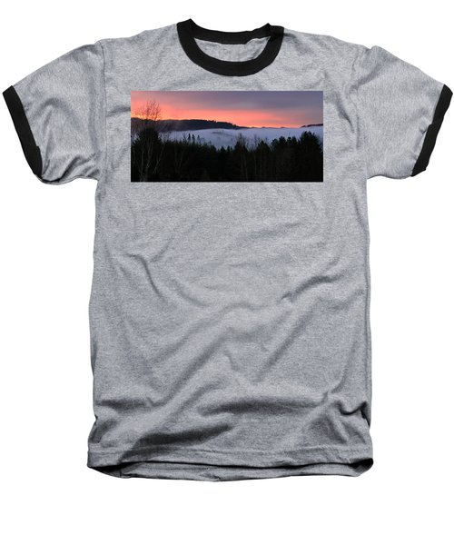 February Oregon Sunrise Baseball T-Shirt