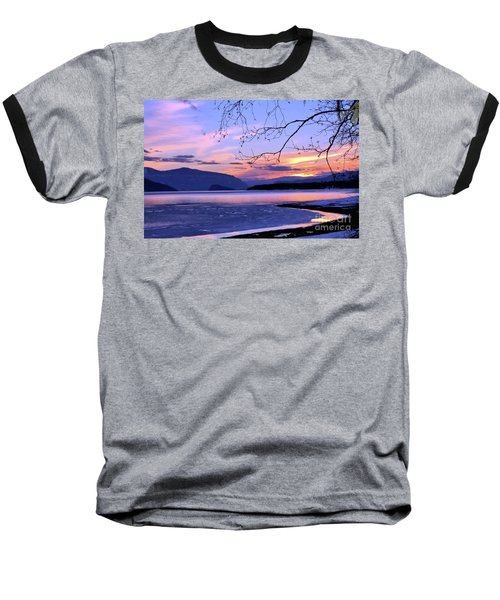 February Sunset 2 Baseball T-Shirt