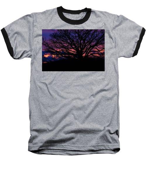 February Sunset Baseball T-Shirt