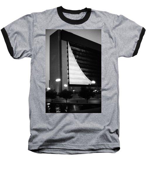 Federal Reserve Building At Twilight Baseball T-Shirt