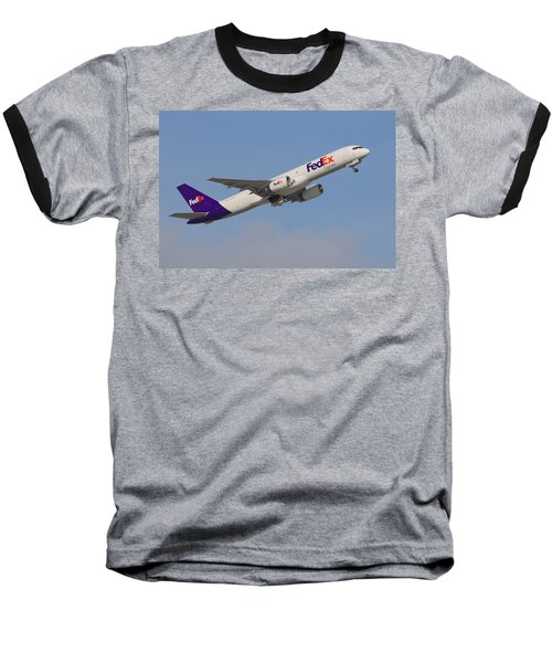 Fedex Jet Baseball T-Shirt