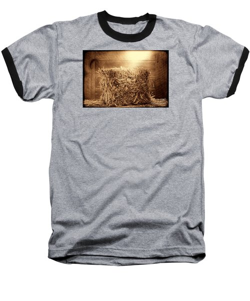 Feed Baseball T-Shirt by American West Legend By Olivier Le Queinec
