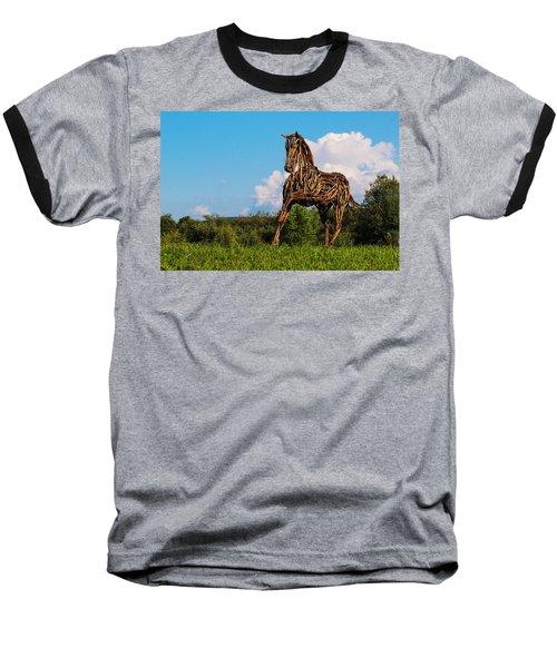 Feed Me Apples Baseball T-Shirt